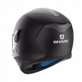 Κράνος μηχανής Shark μαύρο MAT D-SKWAL BLANK