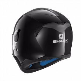 Κράνος μηχανής Shark μαύρο D-SKWAL BLANK