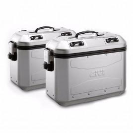 Βαλίτσες πλαϊνές αλουμινίου ζευγάρι 36 λίτρα DLM36APACK2 Monokey GIVI