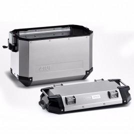 Πλαϊνή αριστερή βαλίτσα αλουμινίου 37 λίτρα OBK37 Trekker Monokey GIVI