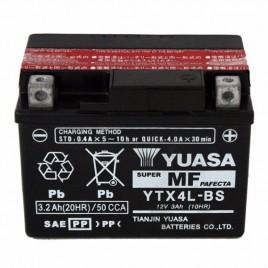Μπαταρία μηχανής Yuasa YTX4L-BS 12V 3.2Ah