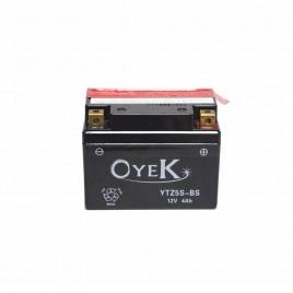 Μπαταρία Μηχανής OYEK YTZ5S-BS 12V 4 Ah