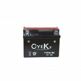 Μπαταρία Μηχανής OYEK YTX4L-BS 12V 3 Ah