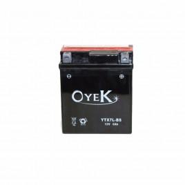 Μπαταρία Μηχανής OYEK YTX7L-BS 12V 6 Ah