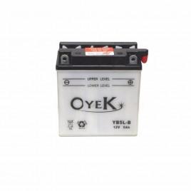 Μπαταρία Μηχανής OYEK YB5L-B 12V 5 Ah