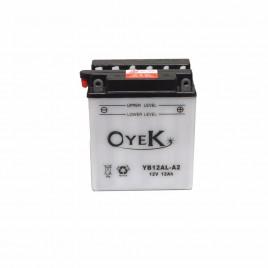 Μπαταρία Μηχανής OYEK YB12AL-A2 12V 12 Ah