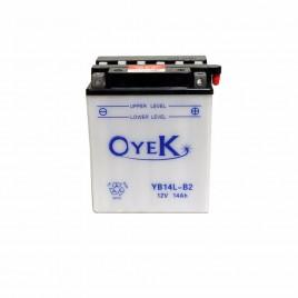 Μπαταρία Μηχανής OYEK YB14L-A2 12V 14 Ah