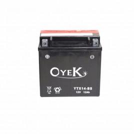 Μπαταρία Μηχανής OYEK YTX14-BS 12V 12 Ah