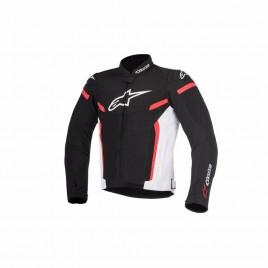Καλοκαιρινό μπουφάν Alpinestars T-GP Plus v2 Air Μαύρο-Κόκκινο χρώμα