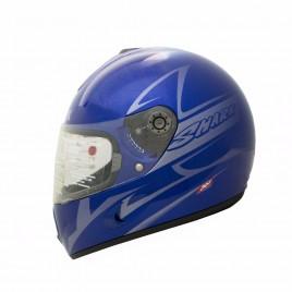 Κράνος μηχανής Shark S800 Fusion Tec Μπλε