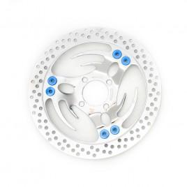 Δισκόπλακα μαργαρίτα Oversize για μπροστά Honda Innova 125cc Blue