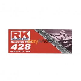 Αλυσίδα κίνησης RK Chain Μαύρη 428 X 138L