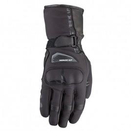 Γάντια μοτοσυκλέτας Nordcap  Voras Μαύρο χρώμα