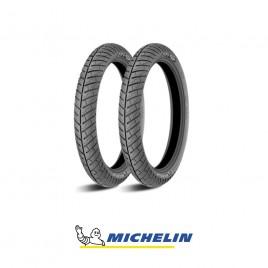 Ελαστικά για παπί ζευγάρι Michelin City Pro 2.50-17 43P 2.75-17 47P
