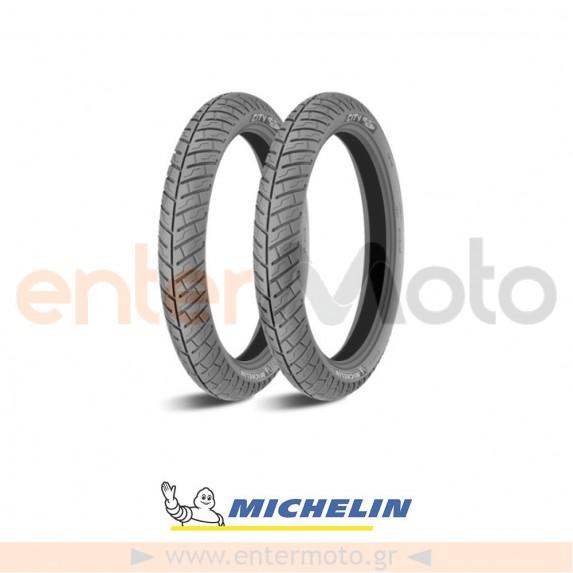 Ελαστικά για παπί ζευγάρι Michelin City Pro Front 2.50-17 Rear 2.75-17
