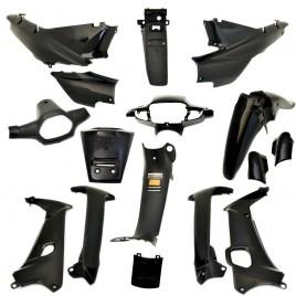 Πλαστικά σετ (κουστούμι) μαύρο χρώμα για Honda Supra Ινδονησίας