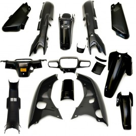 Πλαστικά σετ (κουστούμι) μαύρο χρώμα για Honda Astrea Grand Ινδονησίας