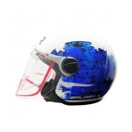 Παιδικό κράνος STR Splash White & Blue