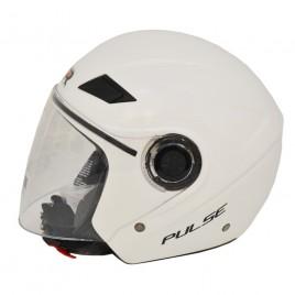 Κράνος πόλης Jet STR Pulse Λευκό χρώμα