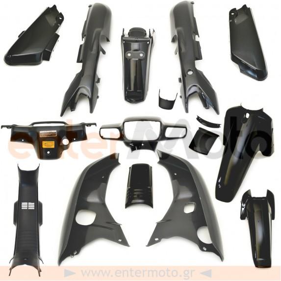Πλαστικά σετ (κουστούμι) μαύρο χρώμα για Honda Astrea Grand