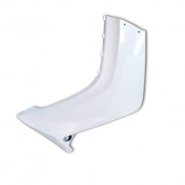 Γνήσια αριστερή ποδιά (καρίνα) λευκό χρώμα για Yamaha Crypton-X 135cc