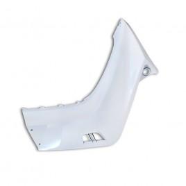 Γνήσια δεξιά ποδιά (καρίνα) λευκό χρώμα για Yamaha Crypton-X 135cc