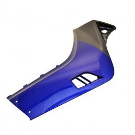 Γνήσια δεξιά ποδιά (καρίνα) Μπλέ - Γκρι χρώμα για Yamaha Crypton-X 135cc