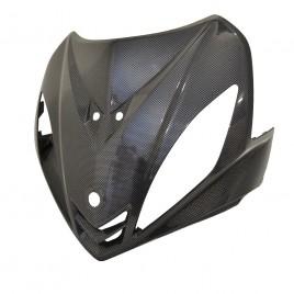 Μάσκα πιρουνιού Carbon για Yamaha Crypton X 135cc