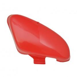 Δεξί καπάκι μπαταρίας κόκκινο χρώμα για Honda C 50 12V