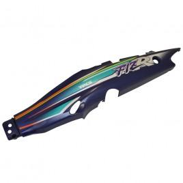 Γνήσια αριστερή ουρά μώβ χρώμα με αυτοκόλλητο για Yamaha F1ZR