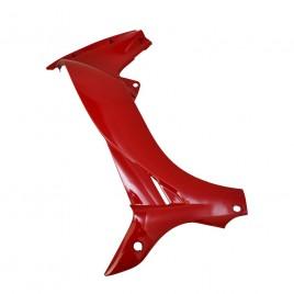 Γνήσια αριστερή εσωτερική ποδιά κόκκινο χρώμα για Yamaha Crypton R 115cc