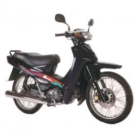 Γνήσια δεξιά εξωτερική ποδιά μπλέ σκούρο χρώμα για Yamaha Crypton 105cc