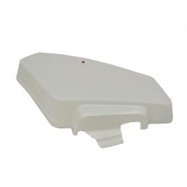 Δεξί καπάκι μπαταρίας λευκό χρώμα για Honda GLX 50