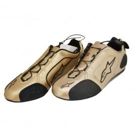 Παπούτσια μηχανής Alpinestas F1 Sport Gold