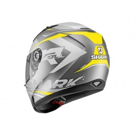 Κράνος μηχανής Shark Ridill 1.2 Stratom mat Anthracite Yellow