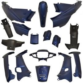 Πλαστικά σετ (κουστούμι) μπλέ χρώμα για Honda Supra Ινδονησίας