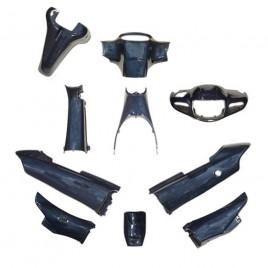 Πλαστικά Σετ (Κουστούμι) μπλέ Χρώμα Για Modenas Kriss 115cc