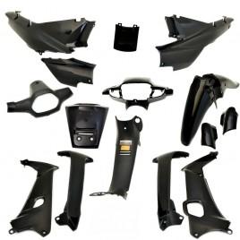 Πλαστικά σετ (κουστούμι) μαύρο χρώμα για Honda Supra Μαλαισίας