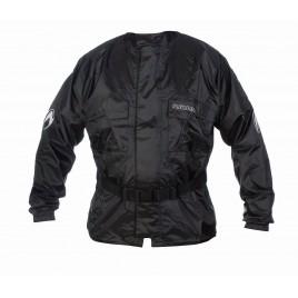 Αδιάβροχο μπουφάν μοτοσυκλέτας RICHA RAINWARRIOR μαύρο χρώμα